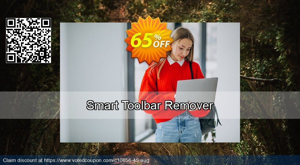 Get 65% OFF Smart Toolbar Remover offering sales