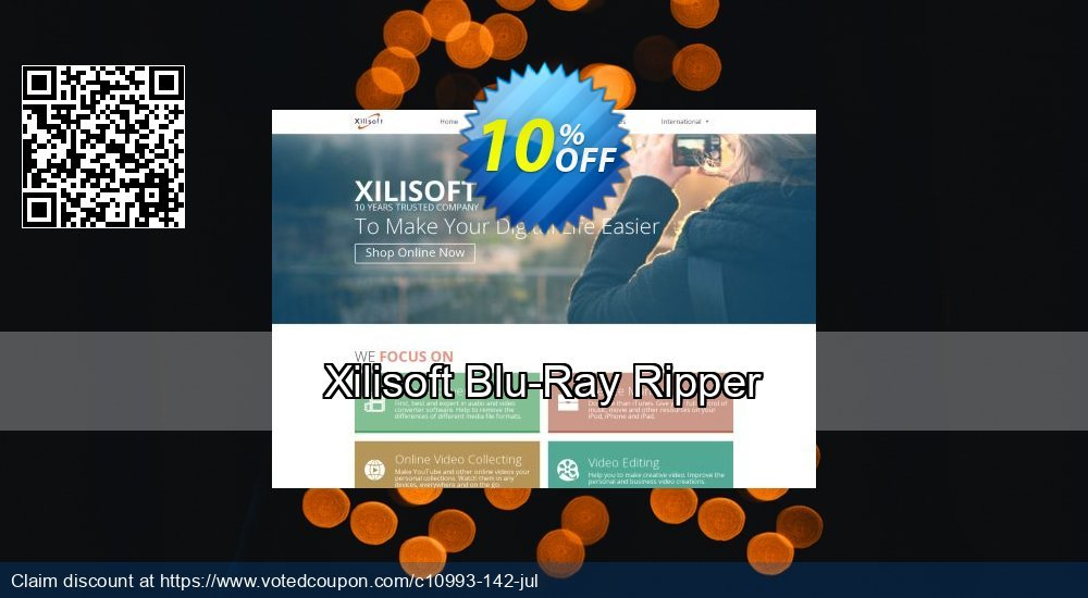 Get 30% OFF Xilisoft Blu-Ray Ripper offering sales