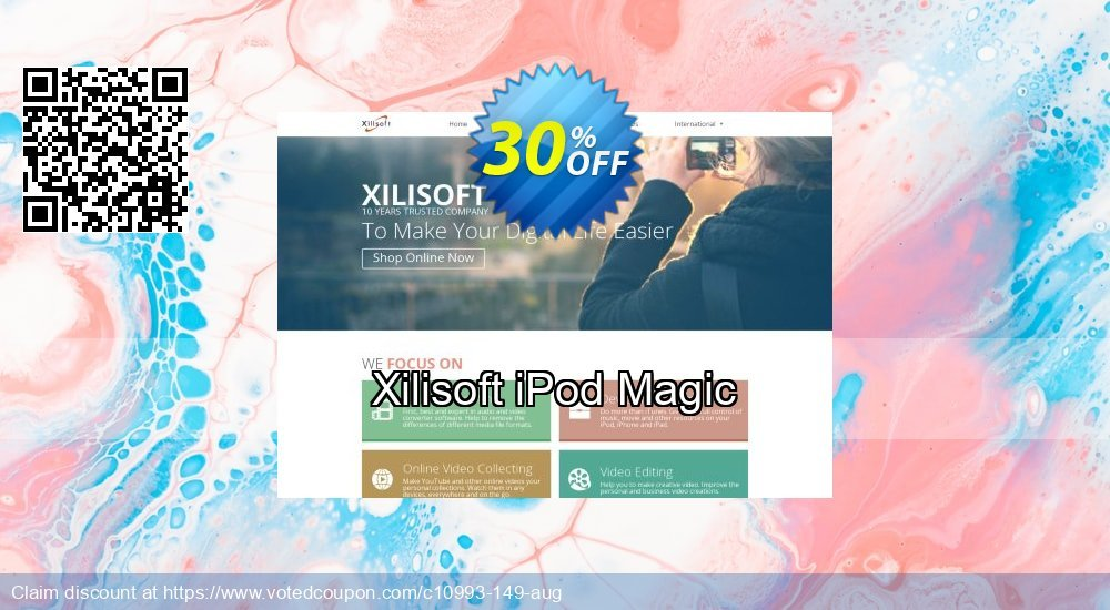 Get 30% OFF Xilisoft iPod Magic offering sales