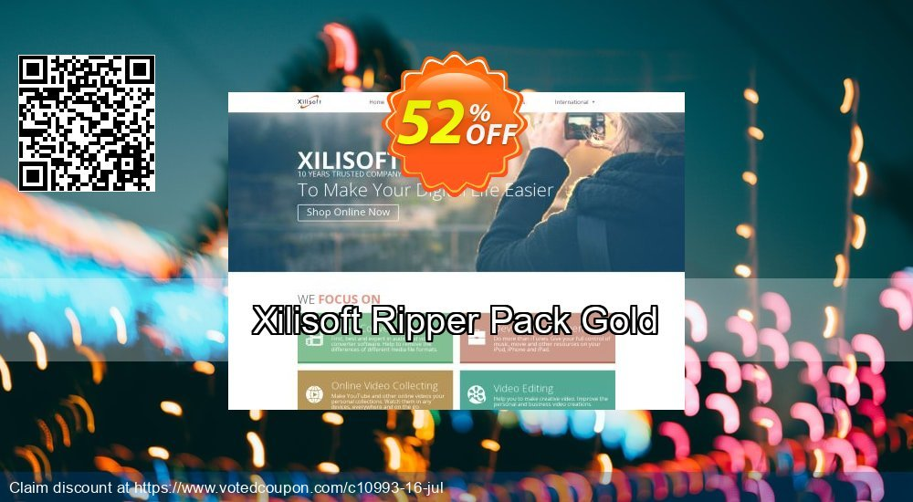 Get 30% OFF Xilisoft Ripper Pack Gold discounts