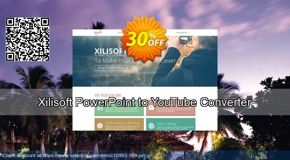 Get 30% OFF Xilisoft PowerPoint to YouTube Converter offer