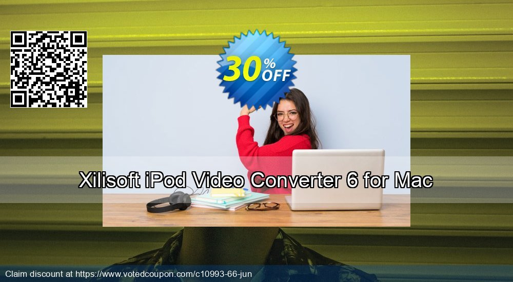 Get 30% OFF Xilisoft iPod Video Converter 6 for Mac offering sales