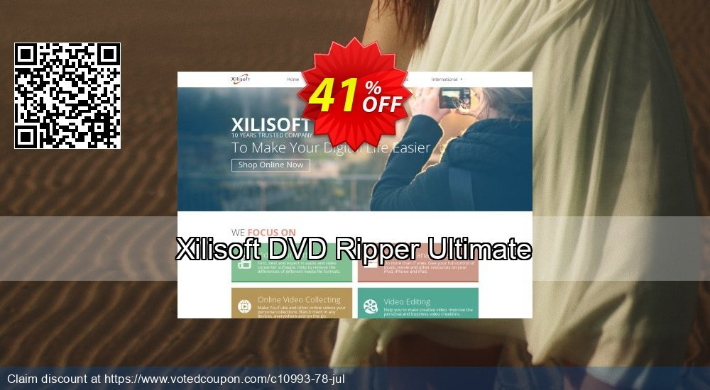 Get 30% OFF Xilisoft DVD Ripper Ultimate discount