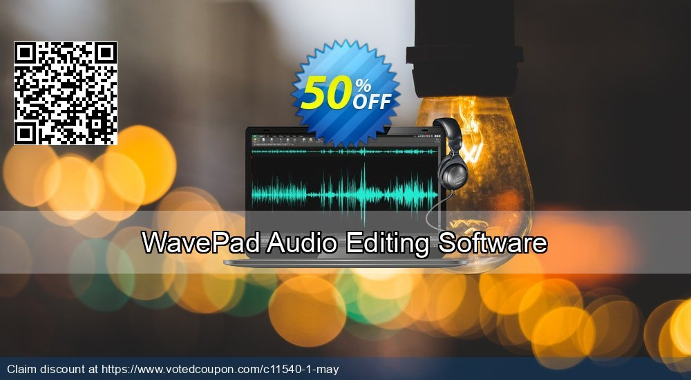 Get 15% OFF WavePad Masters Edition offer