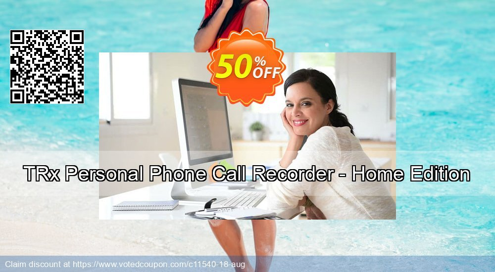 Get 15% OFF TRx Personal Phone Call Recorder - Home Edition promotions