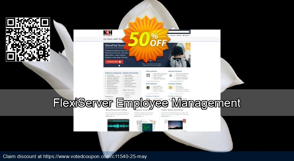 15% OFF FlexiServer Employee Management Coupon code on Father's Day  discount, June 2019