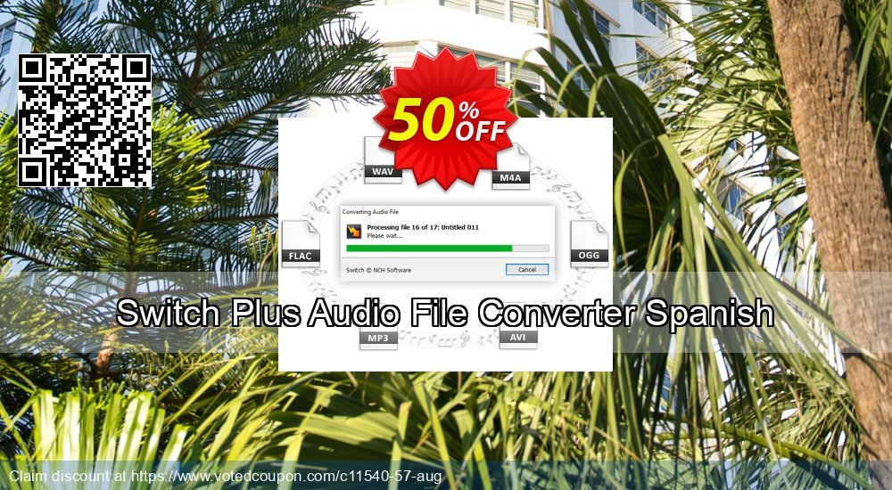 Get 15% OFF Switch Plus Audio File Converter Spanish offer
