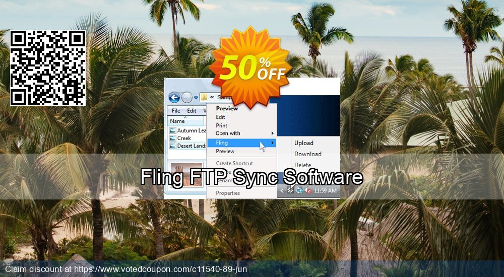 Get 15% OFF Fling FTP Sync and Upload Software offering sales