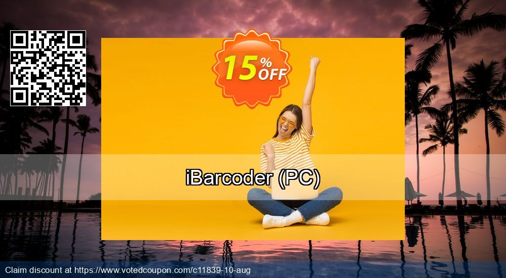 Get 15% OFF iBarcoder (PC) promo sales