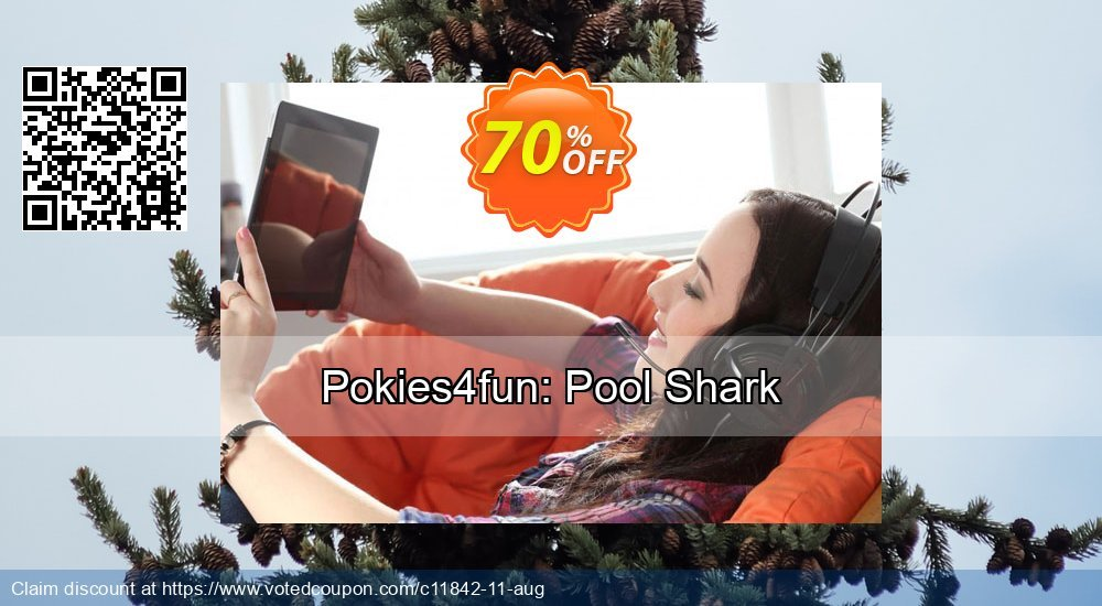 Get 70% OFF Pokies4fun: Pool Shark deals