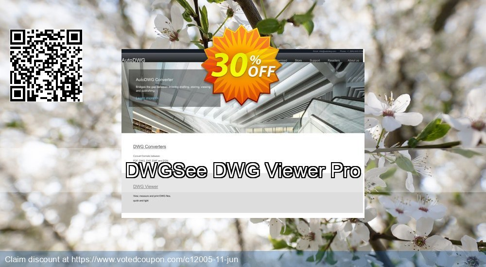 Get 30% OFF DWGSee DWG Viewer Pro deals