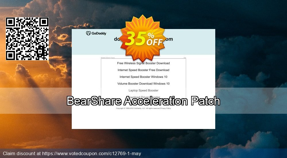 Get 35% OFF BearShare Acceleration Patch discounts