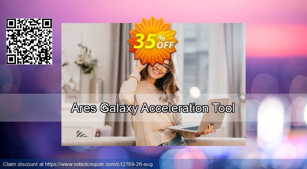Get 35% OFF Ares Galaxy Acceleration Tool offering sales