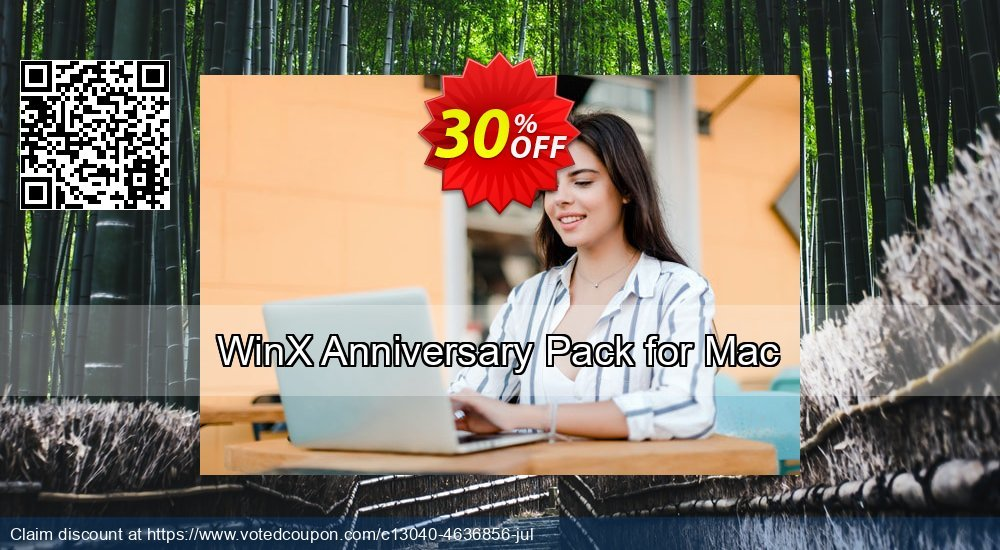 Get 30% OFF WinX Anniversary Gift Pack for Mac sales