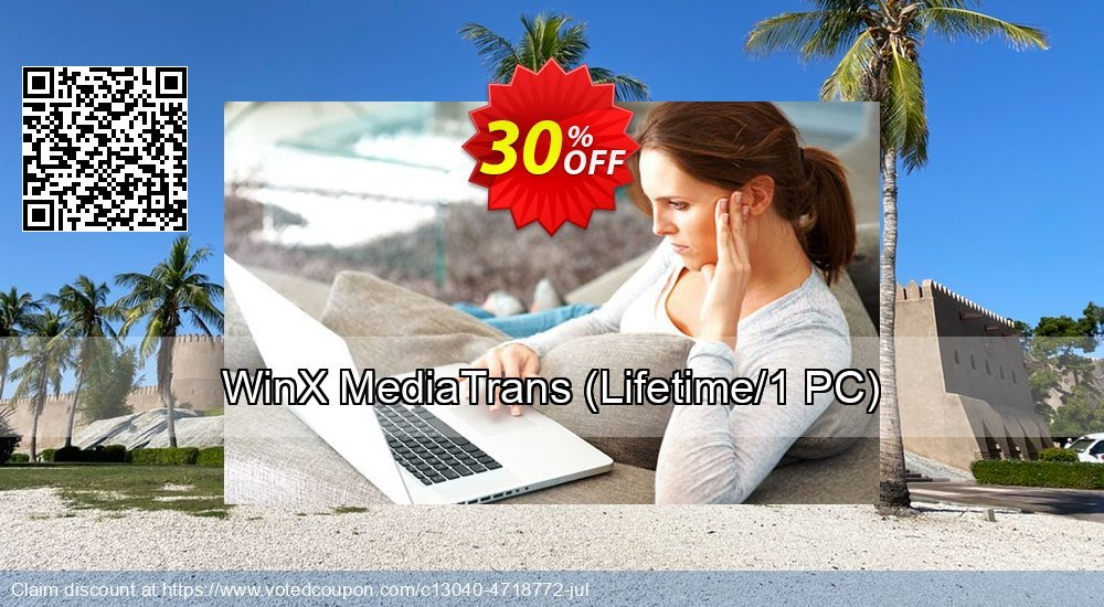 Get 30% OFF WinX MediaTrans (Lifetime License for 1 PC) promo