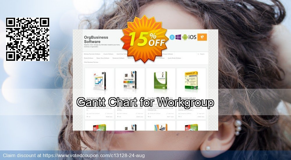Get 15% OFF Gantt Chart for Workgroup offering sales