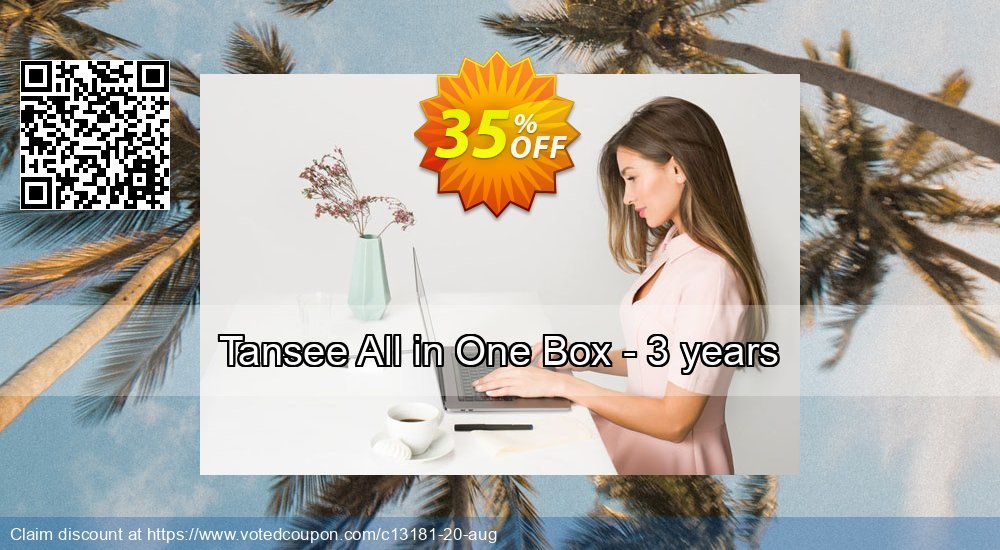 Get 35% OFF Tansee All in One Box - 3 years promotions