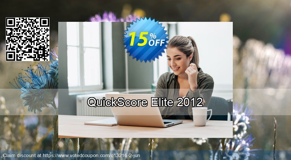 Get 15% OFF QuickScore Elite 2012 deals