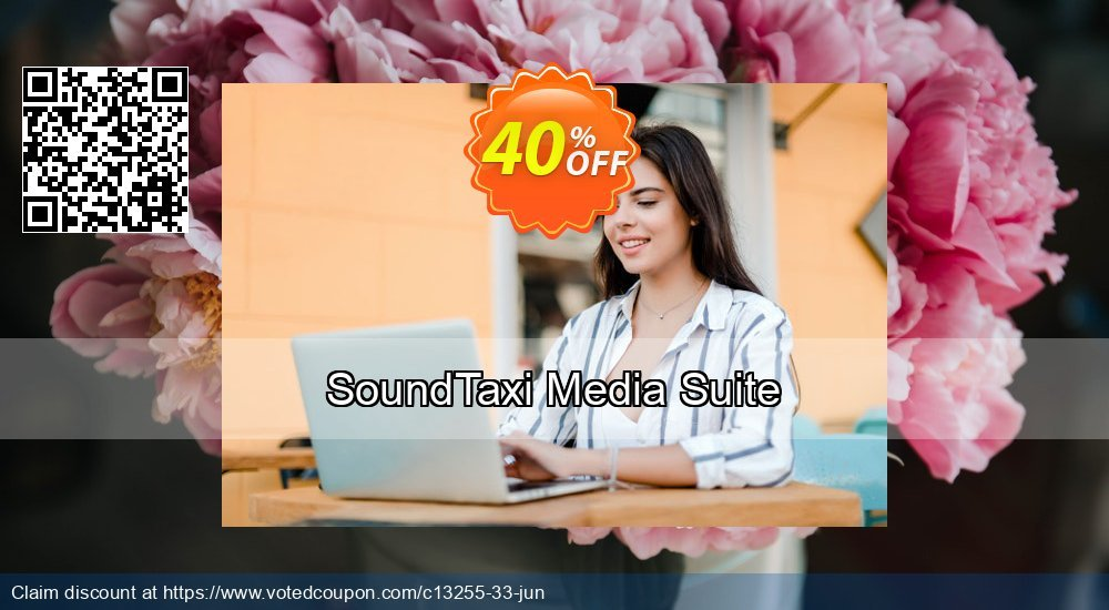 Get 40% OFF SoundTaxi Media Suite offering discount