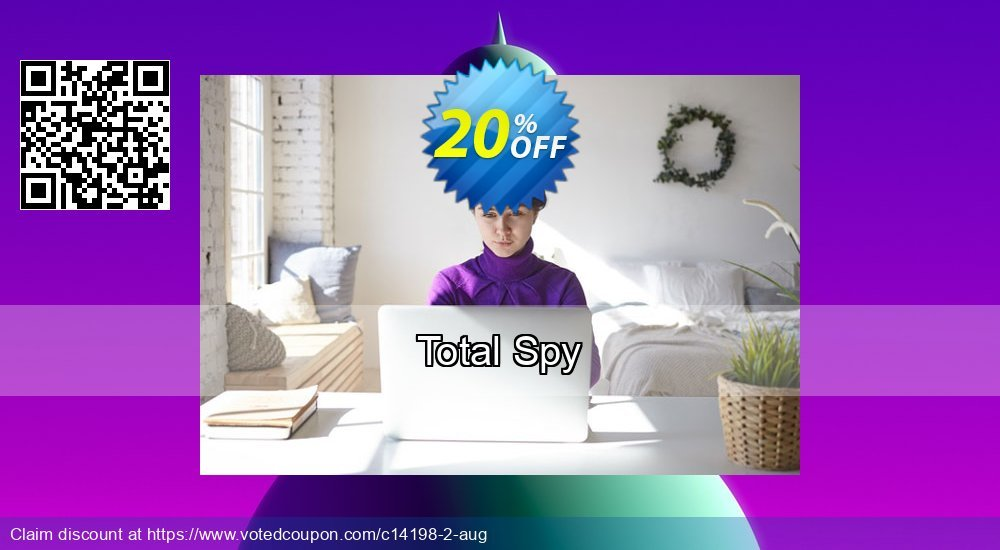 Get 20% OFF Total Spy sales