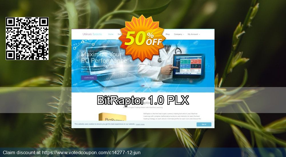 Get 50% OFF BitRaptor 1.0 PLX promotions