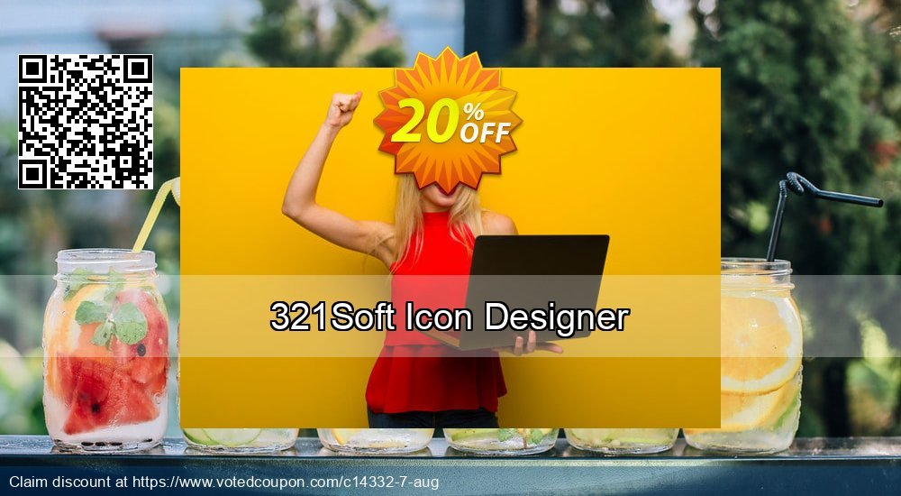 Get 20% OFF 321Soft Icon Designer offering sales