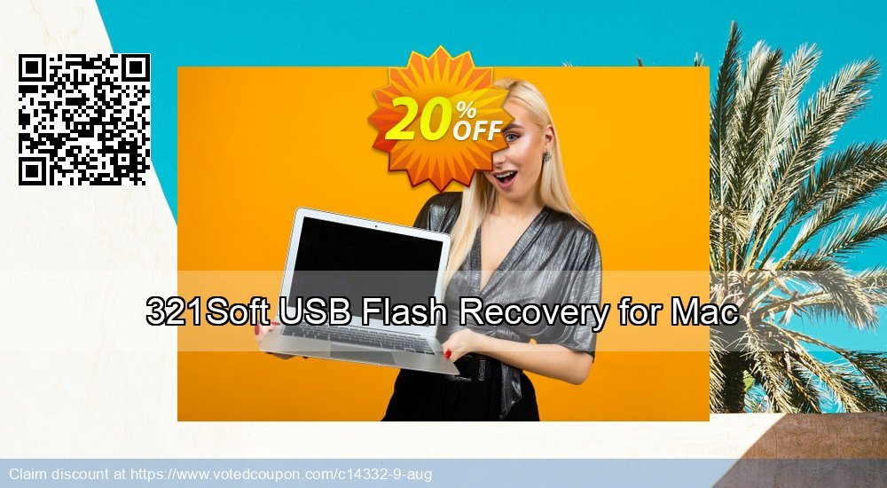 Get 100% OFF 321Soft USB Flash Recovery for Mac Coupon