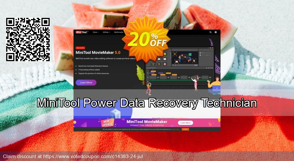 Get 20% OFF MiniTool Power Data Recovery Technician Coupon