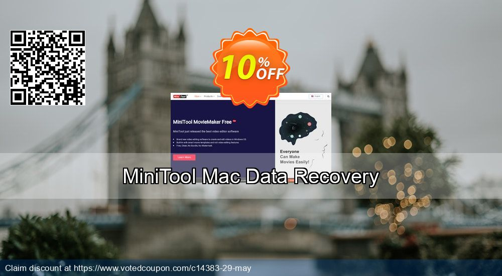 Get 20% OFF Mac Data Recovery - Personal License Coupon