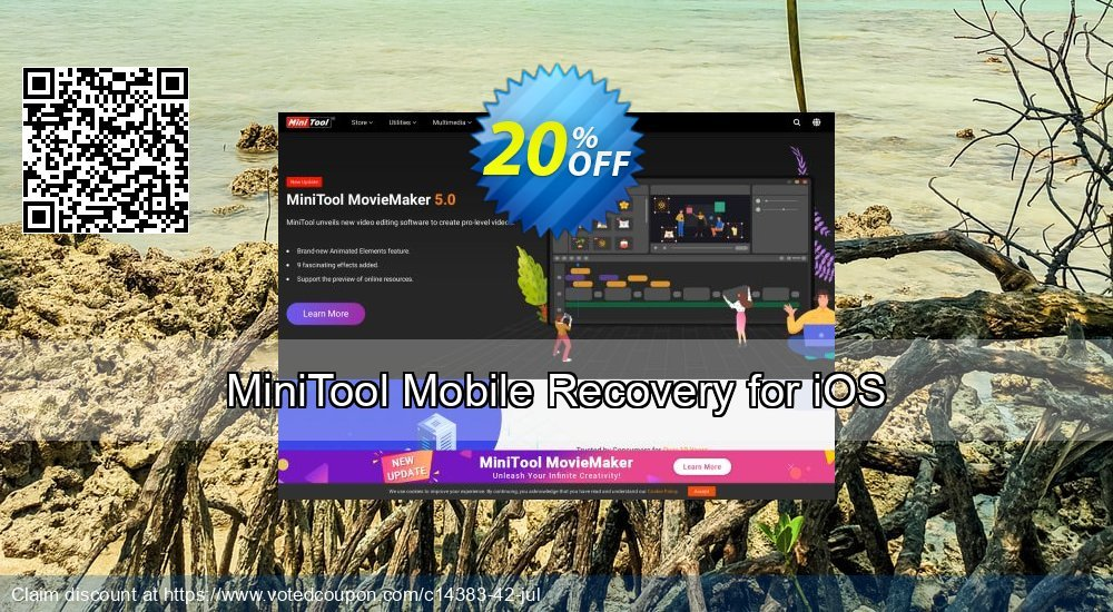 Get 20% OFF MiniTool Mobile Recovery for iOS Coupon
