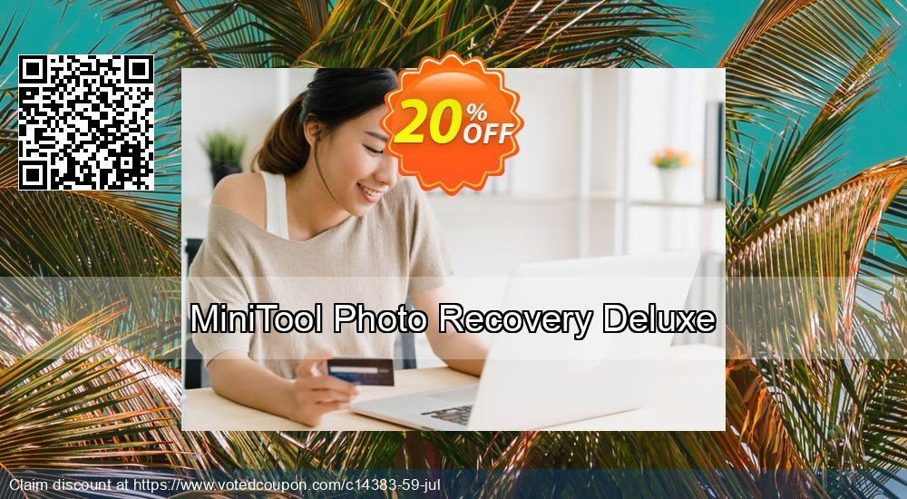 Get 20% OFF MiniTool Photo Recovery Deluxe promo sales