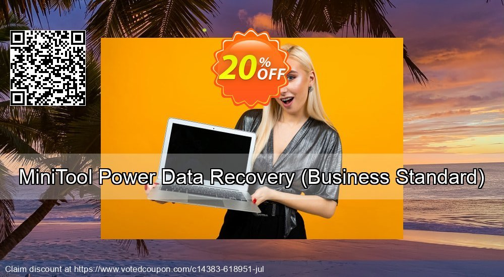 Get 20% OFF MiniTool Power Data Recovery - Business Standard offering sales