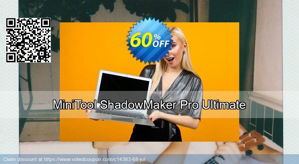 Get 20% OFF MiniTool ShadowMaker Pro Ultimate offering sales