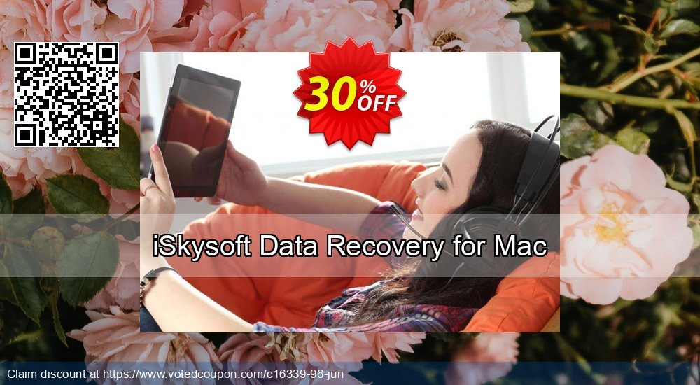 Get 20% OFF iSkysoft Data Recovery for Mac Coupon