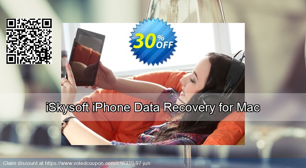 Get 30% OFF iSkysoft iPhone Data Recovery for Mac Coupon