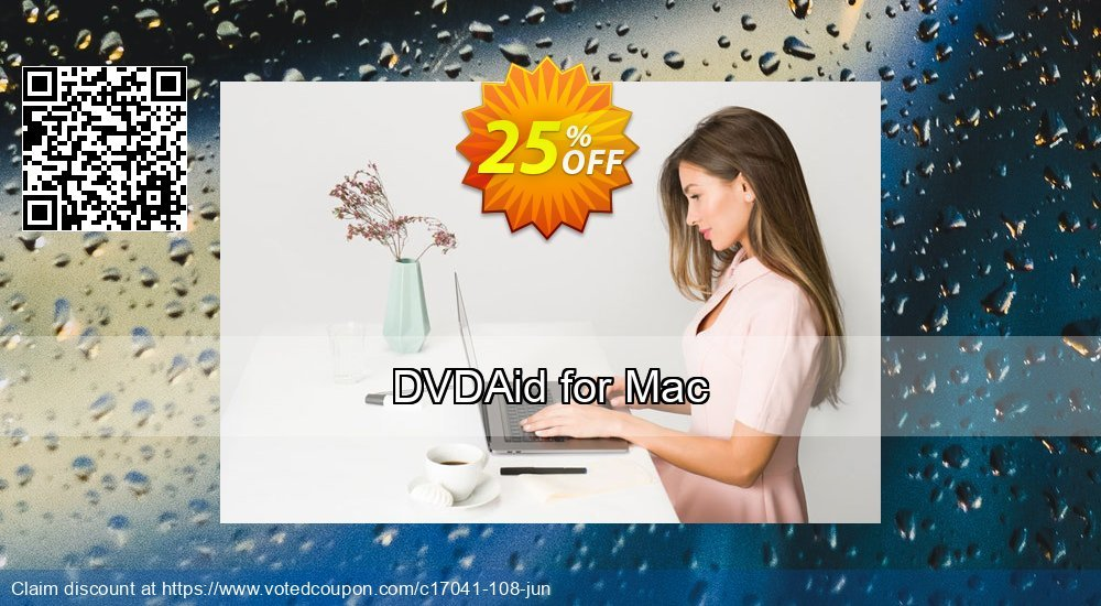 Get 25% OFF DVDAid for Mac offering sales