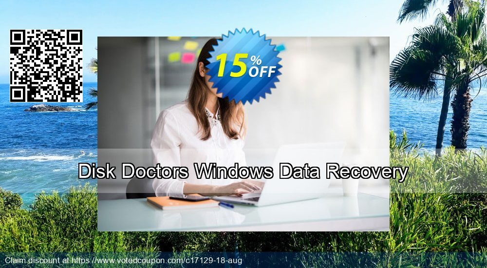 Get 15% OFF Disk Doctors Windows Data Recovery offering sales