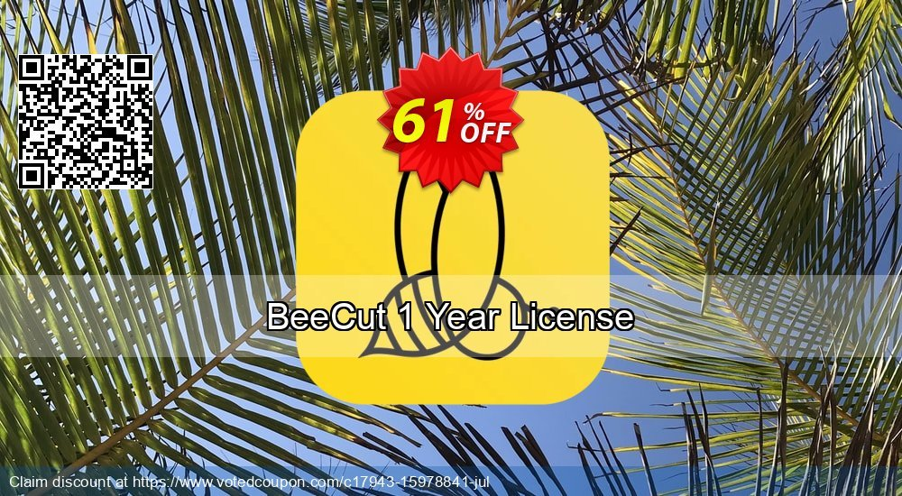 Get 53% OFF BeeCut Yearly offer