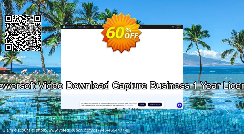 Get 57% OFF Video Download Capture Business Yearly promo sales