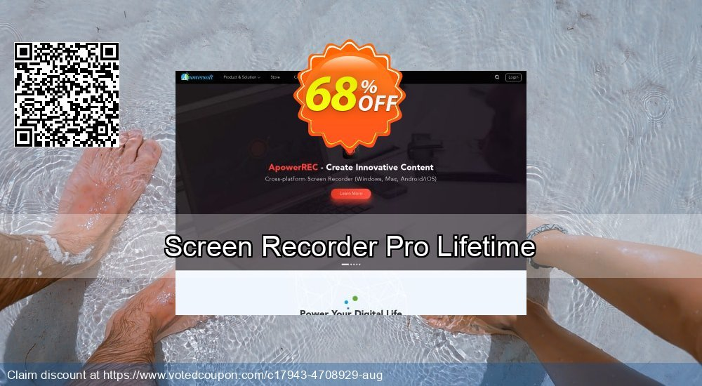 Get 57% OFF Screen Recorder Pro Lifetime discount