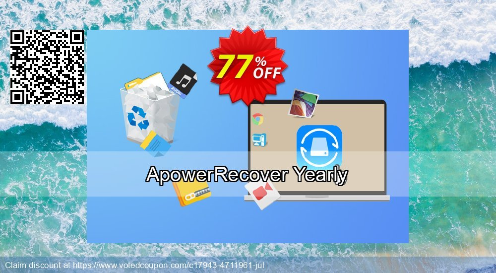 Get 77% OFF ApowerRecover Yearly Coupon