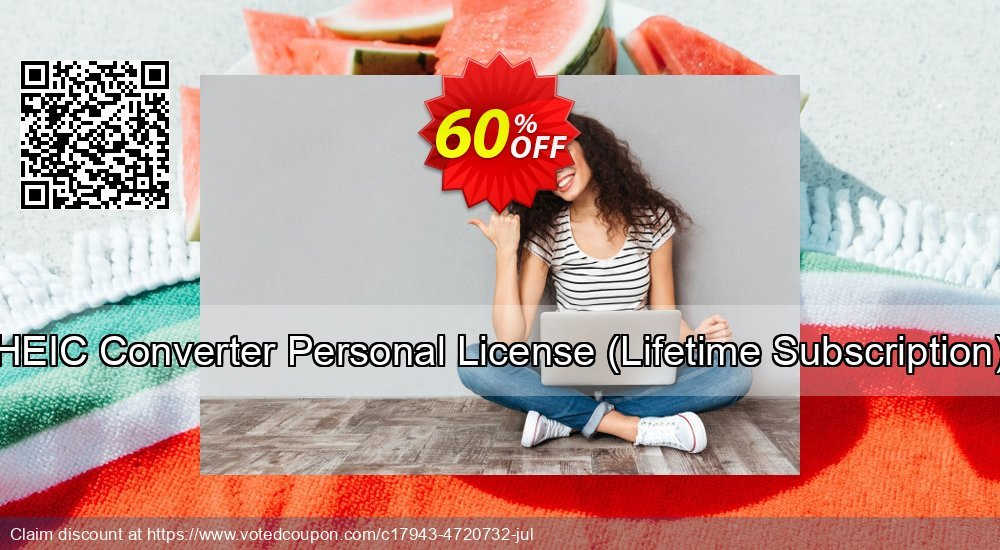 Get 30% OFF HEIC Converter Personal License (Lifetime Subscription) offering deals