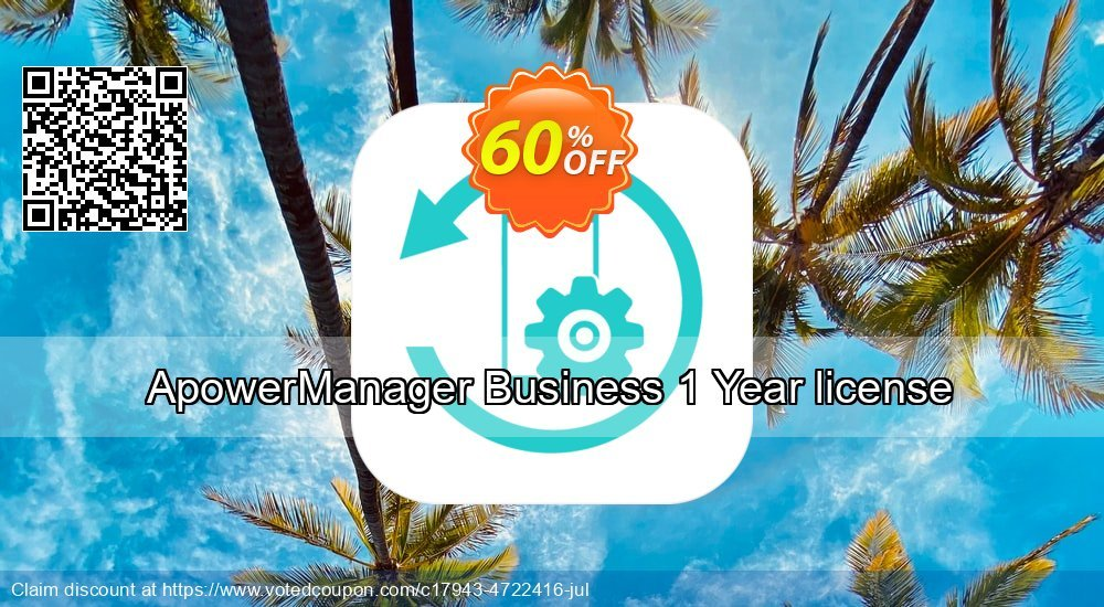 Get 53% OFF ApowerManager Business Yearly promotions