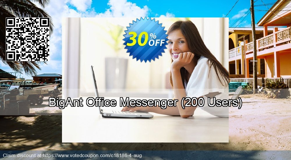 Get 30% OFF BigAnt Office Messenger (Up to 200 Users) sales