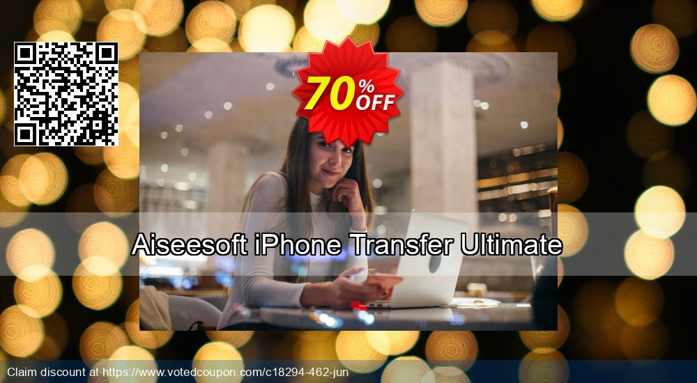 Get 40% OFF Aiseesoft iPhone Transfer Ultimate offering sales
