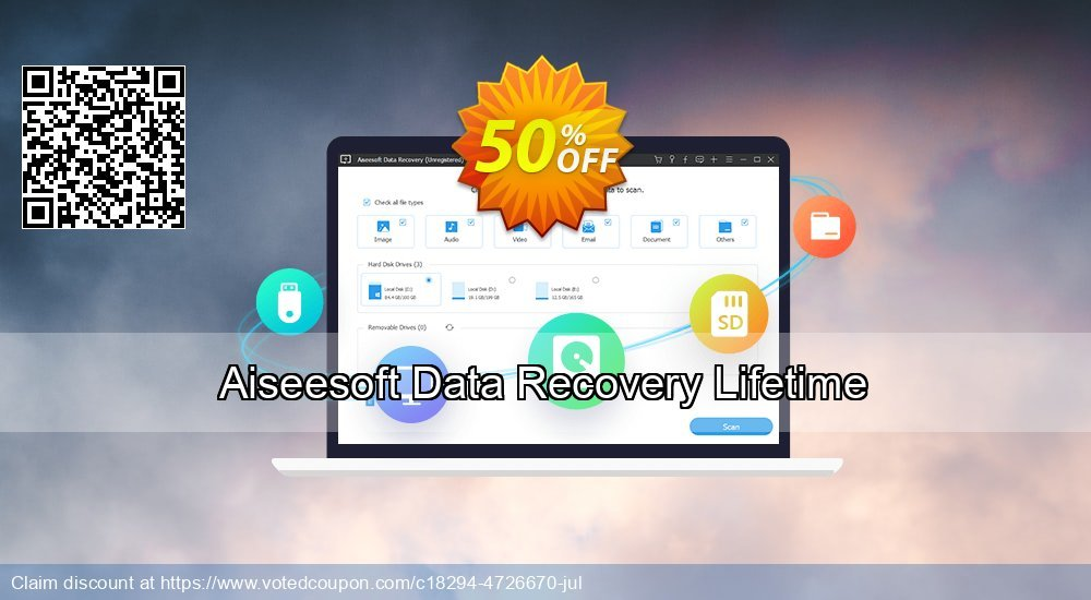 Get 51% OFF Aiseesoft Data Recovery Lifetime Coupon