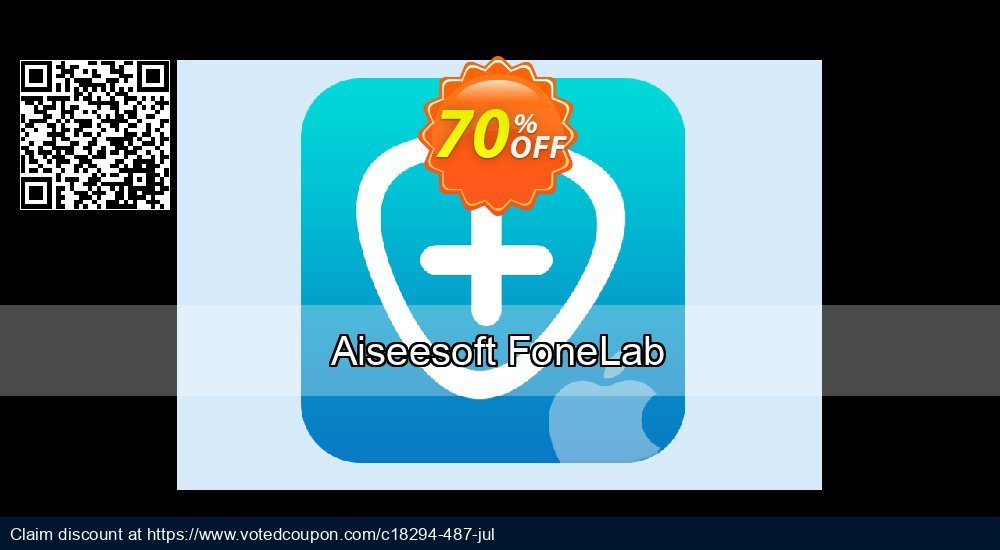 Get 71% OFF Aiseesoft FoneLab Coupon