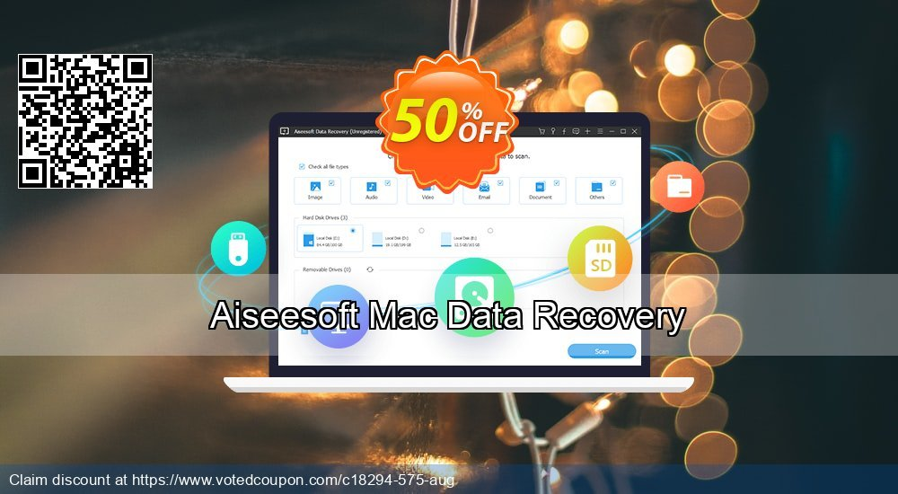 Get 51% OFF Aiseesoft Mac Data Recovery Coupon