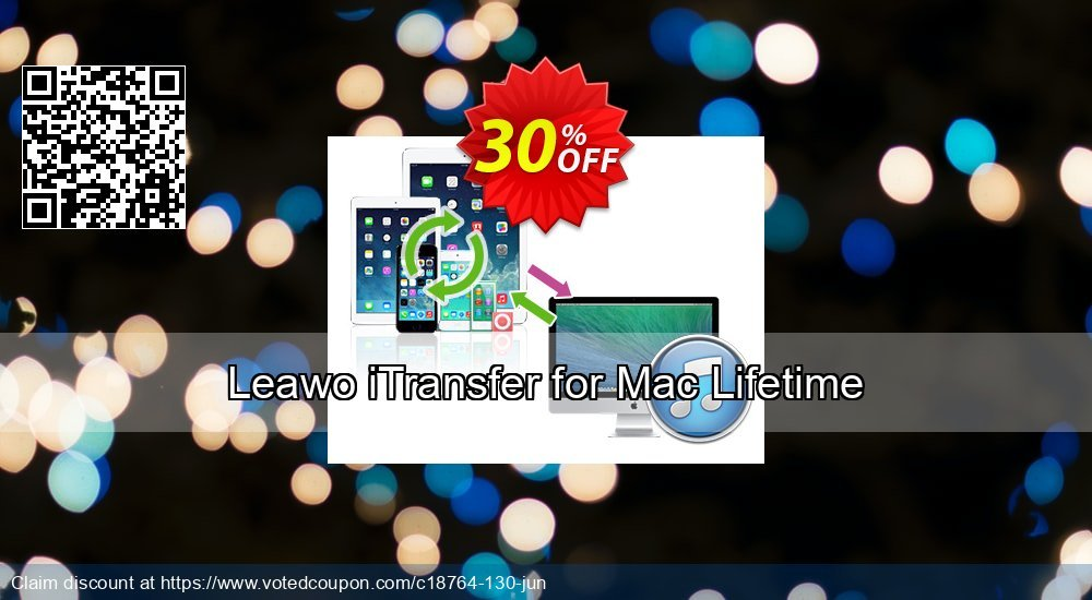 Get 30% OFF Leawo iTransfer for Mac Lifetime offering discount
