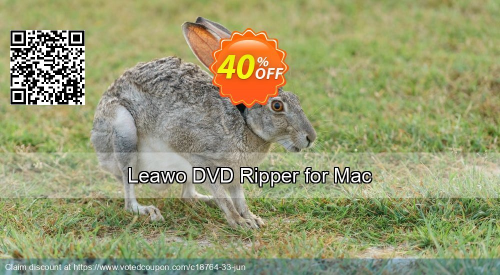 Get 40% OFF Leawo DVD Ripper for Mac discounts